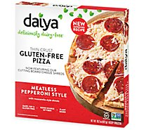 Daiya Pizza Meatless Pepperoni St Frozen - 16.7 Oz