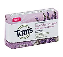 Toms of Maine Beauty Bar Natural Lavender Tea Tree - 5 Oz