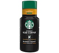 Starbucks Iced Coffee Blonde Roast Unsweetened - 48 Fl. Oz.