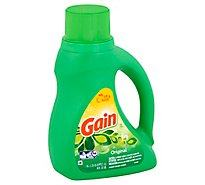 Gain Plus Aroma Boost Laundry Detergent Liquid Original - 40 Fl. Oz.