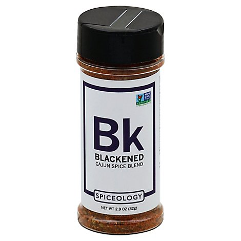 Spiceologist Spice Blend Cajun Rub Blackened - 2.9 Oz