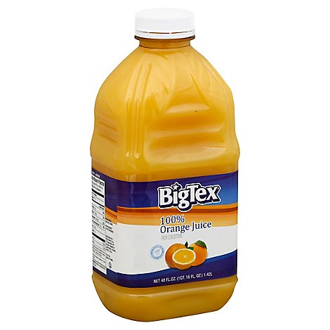 Bigtex Orange Juice - 48 Oz