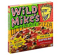 Wild Mikes Pizza Supreme Fun Size 9 Inch Frozen - 13.32 Oz