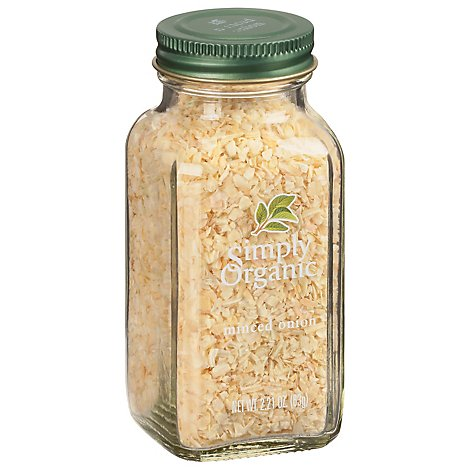 Simply Organic Onion Minced - 2.21 Oz
