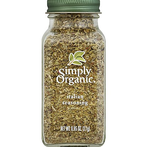 Simply Organic Seasoning Italian - 0.95 Oz