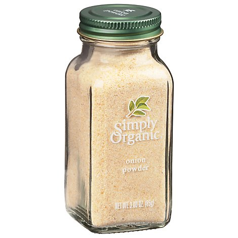 Simply Organic Onion Powder - 3 Oz