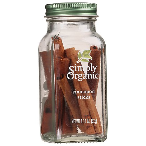 Simply Organic Cinnamon Sticks - 1.13 Oz