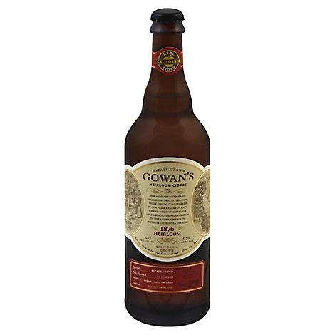 Gowans 1876 Heirloom In Bottles - 500 Ml