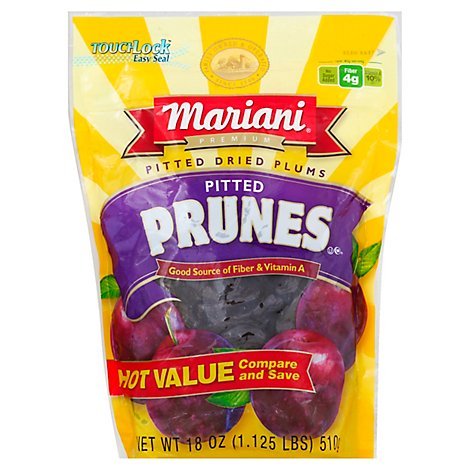Mariani Pitted Prunes - 18 Oz