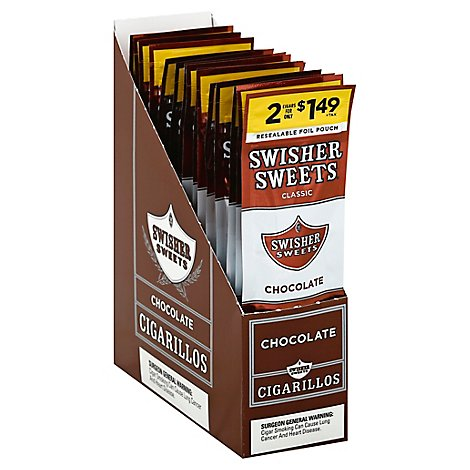 Swisher Sweet Chocolate Cigarillo 2f1.49 - 2 Count