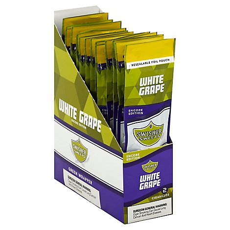 Swisher Sweet White Grape Cigarillo 2/1.49 - 2 Count