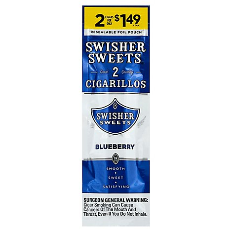 Swisher Blueberry Cigarillo - 2 Count