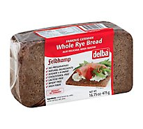 Delba Whole Rye Feldkamp Bread - 16.75 Oz