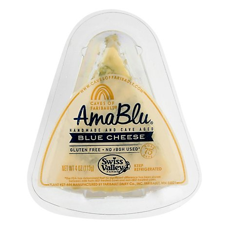 Amablu Blue Wedge - 4 Oz