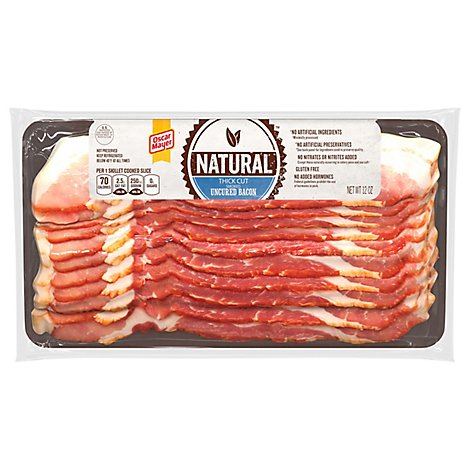 Oscar Mayer Natural Bacon Thick Cut - 12 Oz