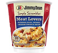 Jimmy Dean Meat Lovers Simple Scrambles - 5.35 Oz