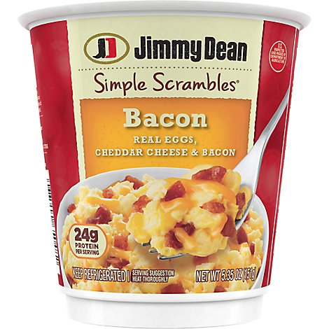 Jimmy Dean Bacon Simple Scrambles - 5.35 Oz