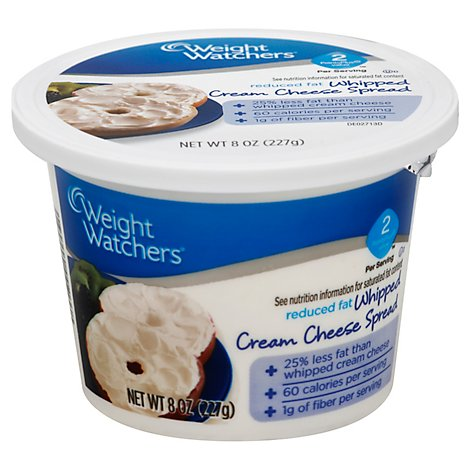 Weight Watchers Whipped Cream Cheese Spread - 8 Oz
