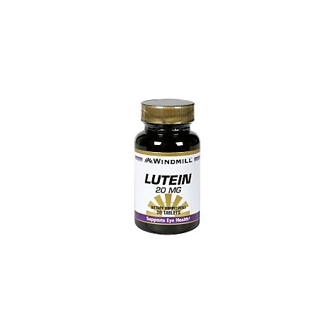 Lutein 20 Mg  Capsules - 30 Count