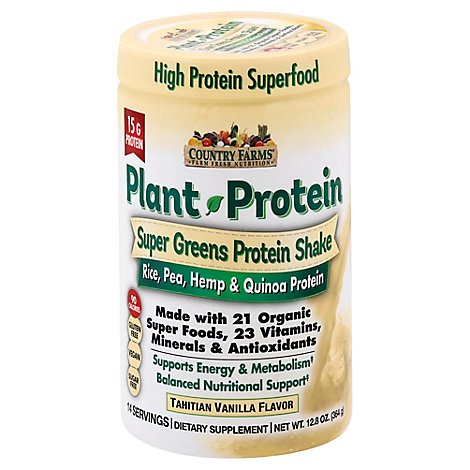 Country Farms Plant Protien - 128 Oz