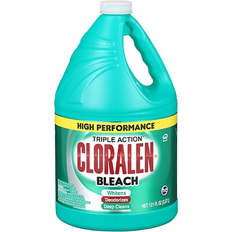 CLORALEN Bleach Triple Action Original Jug - 121 Fl. Oz.