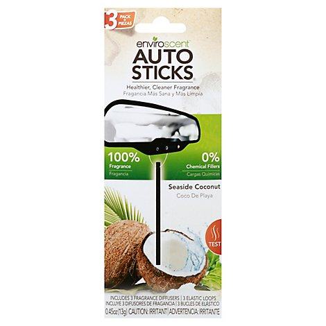 Autostks Seaside Coconut - 3 Count