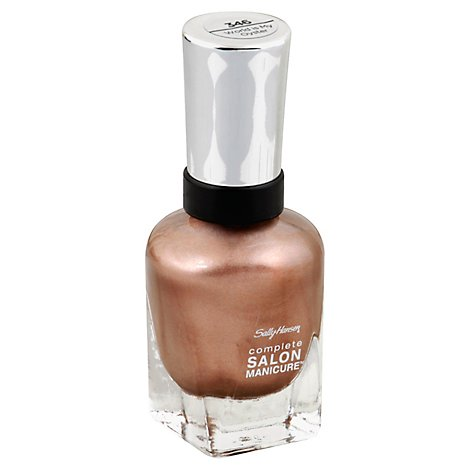 Sally Hansen Complete Salon Manicure Nail Polish World is My Oyster 346 - 0.5 Fl. Oz.