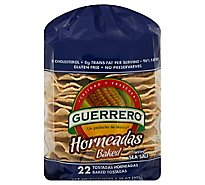 Guerrero Tostadas Baked Horneadas With Sea Salt Bag 22 Count - 9.72 Oz