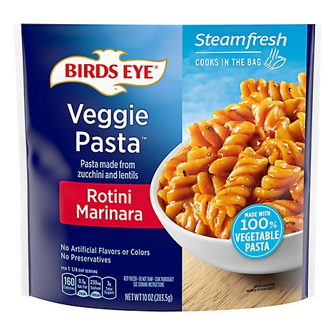 Birds Eye Steamfresh Veggie Made Vegetable Pasta Rotini Marinara - 10 Oz
