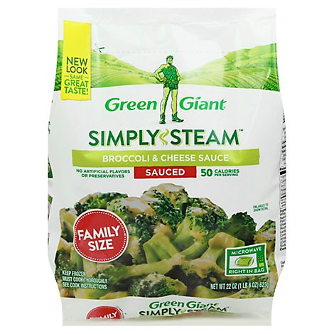 Green Giant Steamers Broccoli & Cheese Sauce Family Size - 24 Oz