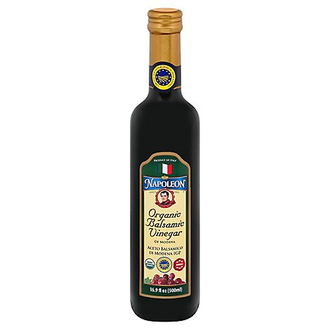 Napoleon Organic Vinegar Of Modena Balsamic - 16.9 Fl. Oz.