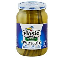 Vlasic Purely Pickles Kosher Dill Stackers - 16 Fl. Oz.