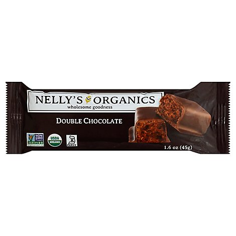 Nellys Organics Double Chocolate - 1.6 Oz