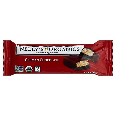 Nellys Organics German Chocolate - 1.6 Oz