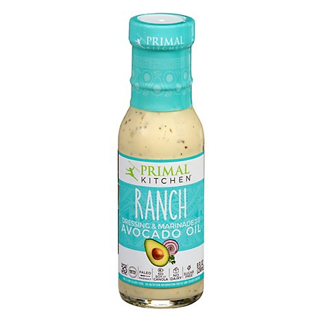 Primal Kitchen Dressing Ranch with Avocado Oil - 8 Oz
