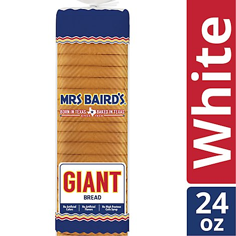 Mrs Bairds Big Bread - 24 Oz