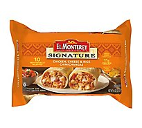 El Monterey Signature Chicken Cheese Chimichangas - 50 Oz