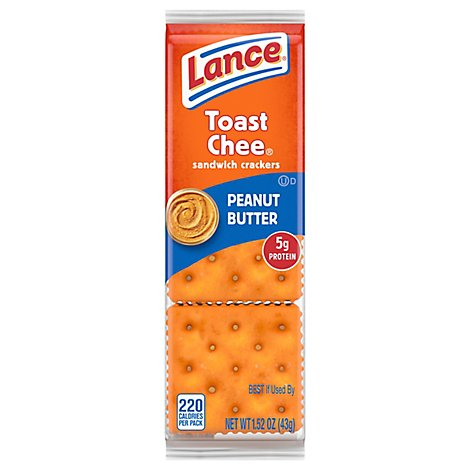 Lance Crackers Toast Cheese - 1.52 Oz