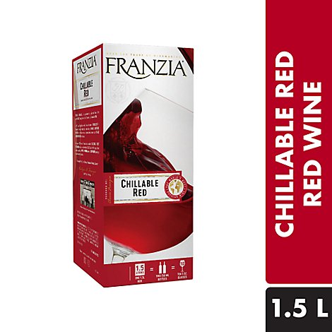 Franzia Wine Red Chillable Red - 1.5 Liter