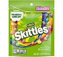 Skittles Chewy Candy Sour Grab N Go Bag - 7.2 Oz