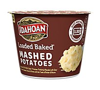 Idahoan Potatoes Mashed Loaded Baked Cup - 1.5 Oz