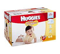 Huggies Little Snugglers Diapers Size 3 - 64 Count