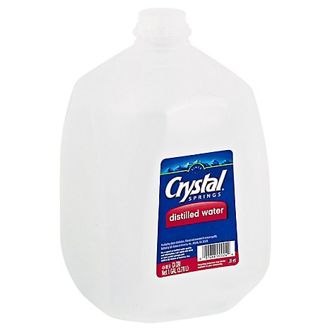 Crystal Springs Distilled Water - Gallon