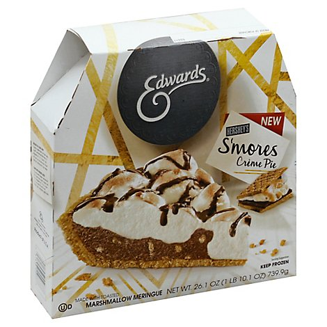 EDWARDS Pie Creme Hersheys Smores Box Frozen - 26.1 Oz