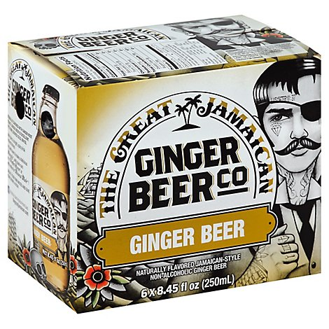 The Great Jamaican Ginger Beer In Cans - 6-8.45 Fl. Oz.