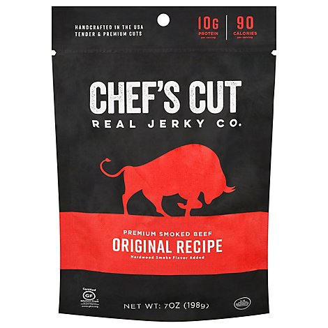 Chefs Cut Original Real Steak Jerky - 7 Oz