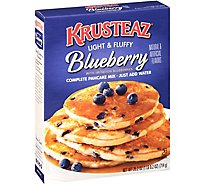 Krusteaz Pancake Mix Complete Blueberry - 25.2 Oz
