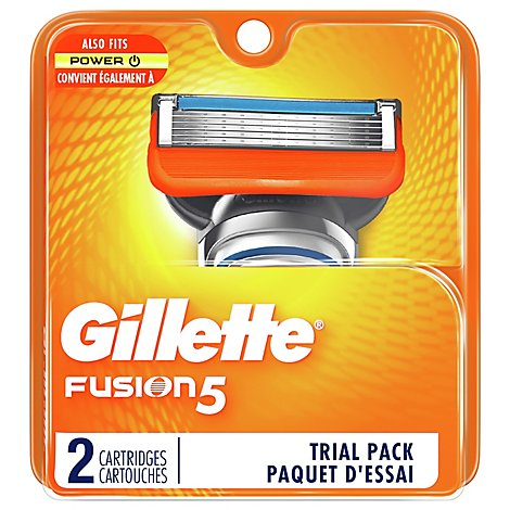 Gillette Fusion 5 Cartridges - 2 Count