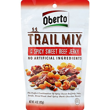 Spicy Beef Jerky Trail Mix - 4 Oz