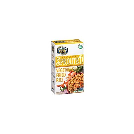Lundberg Organic Sprouted Rice Whole Grain Vegetable Fried - 6 Oz